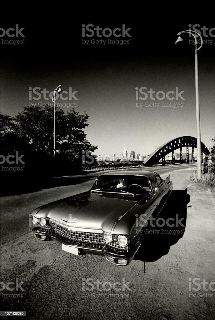 ?60 Cadillac coupe de ville stock photo