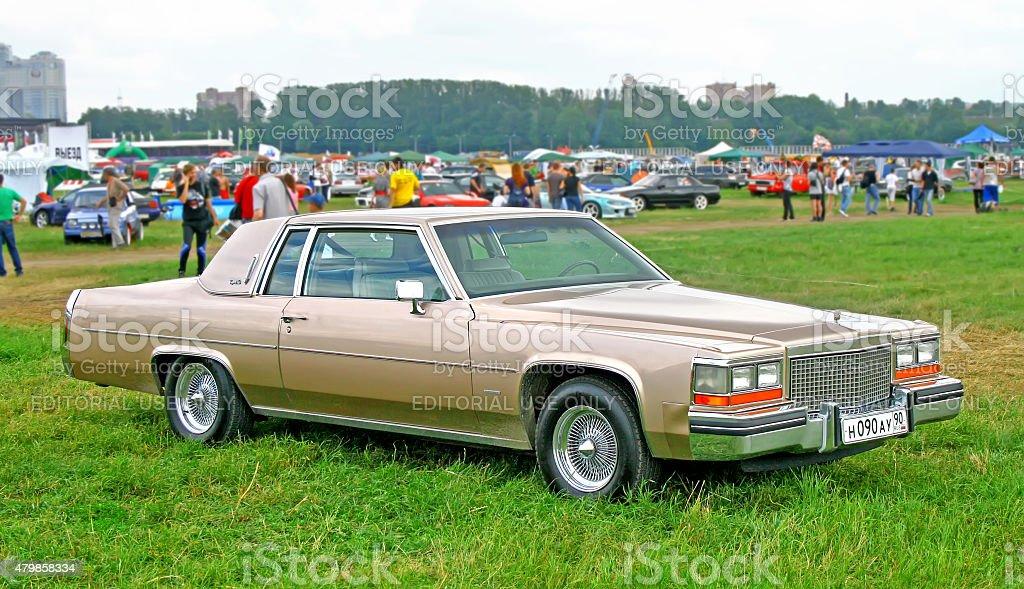 Cadillac Coupe de Ville stock photo