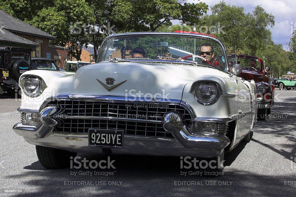Cadillac Coupe DeVille classic car stock photo