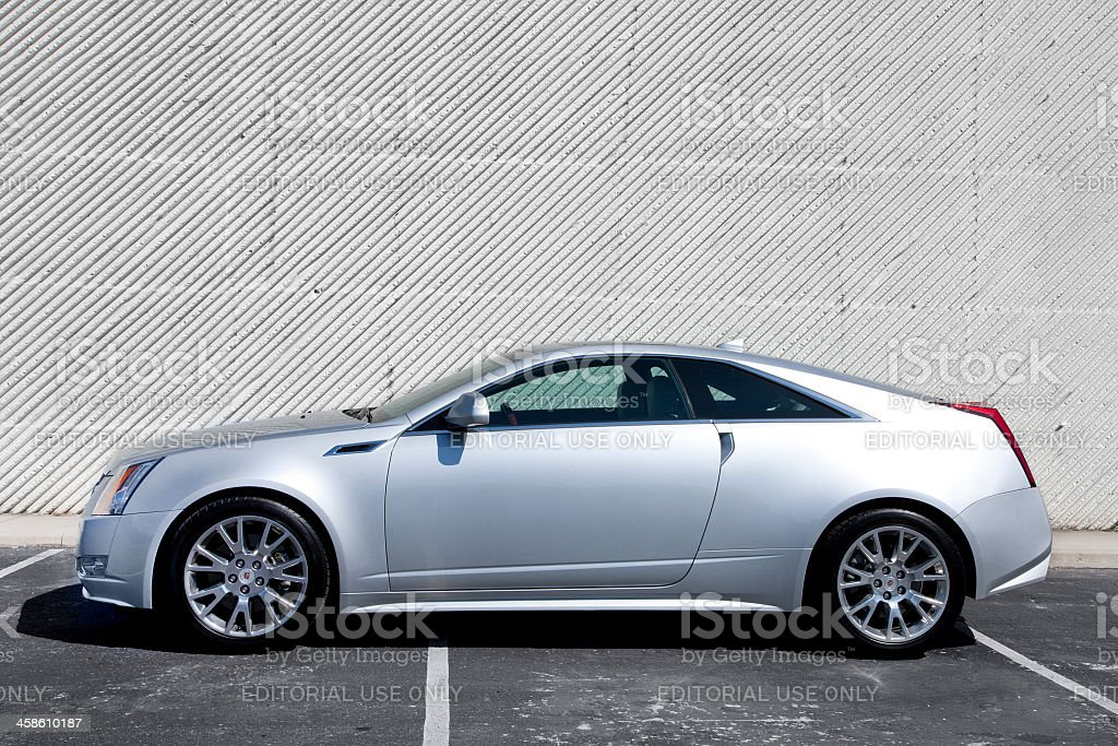 Cadillac CTS Coupe royalty-free stock photo