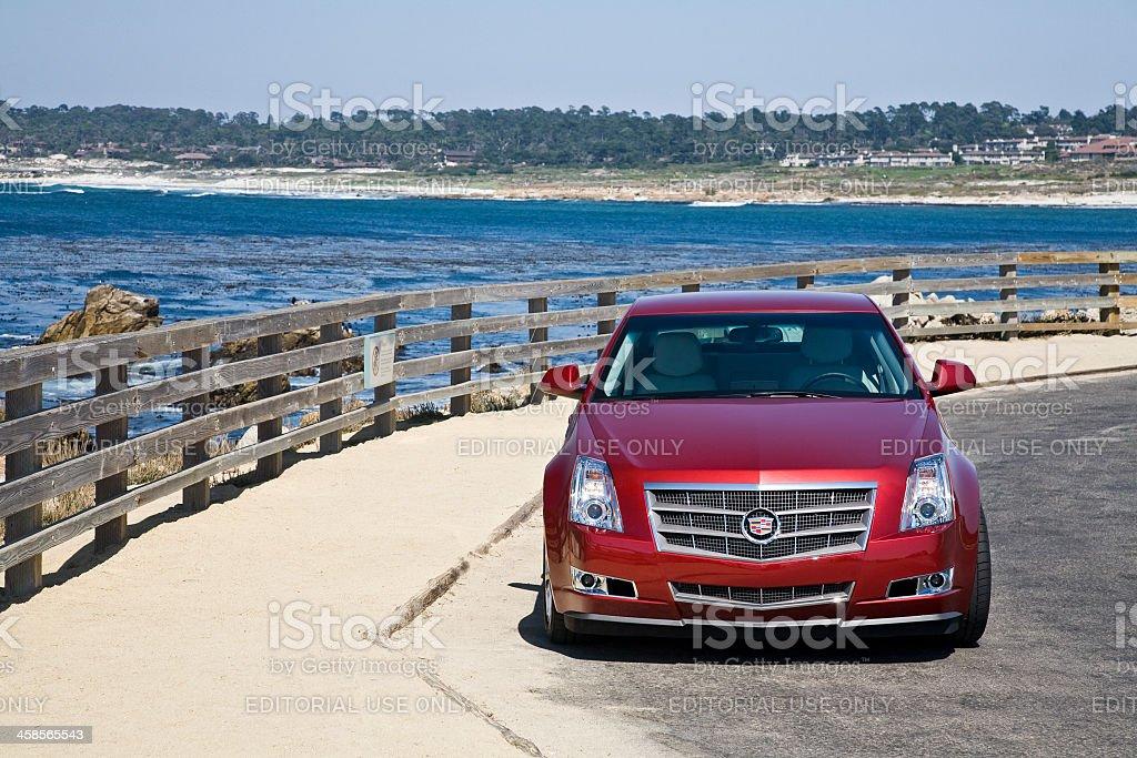 Cadillac CTS royalty-free stock photo