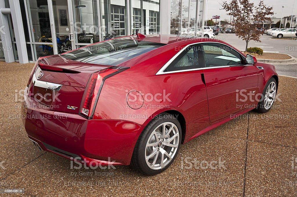 Cadillac CTS-V Coupe royalty-free stock photo