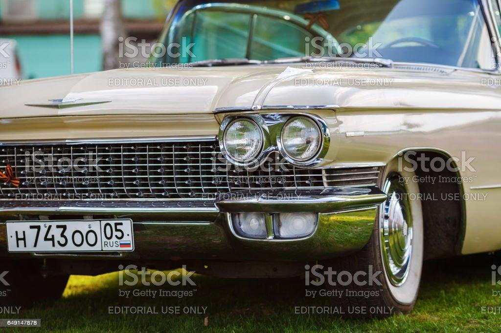 Cadillac de Ville stock photo