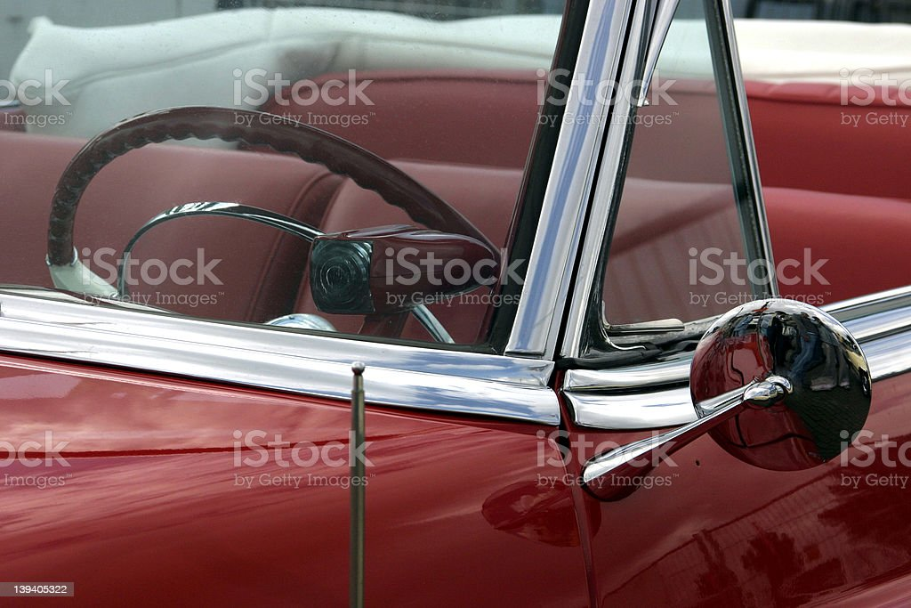 Cadillac  Drivers' Seat stock photo