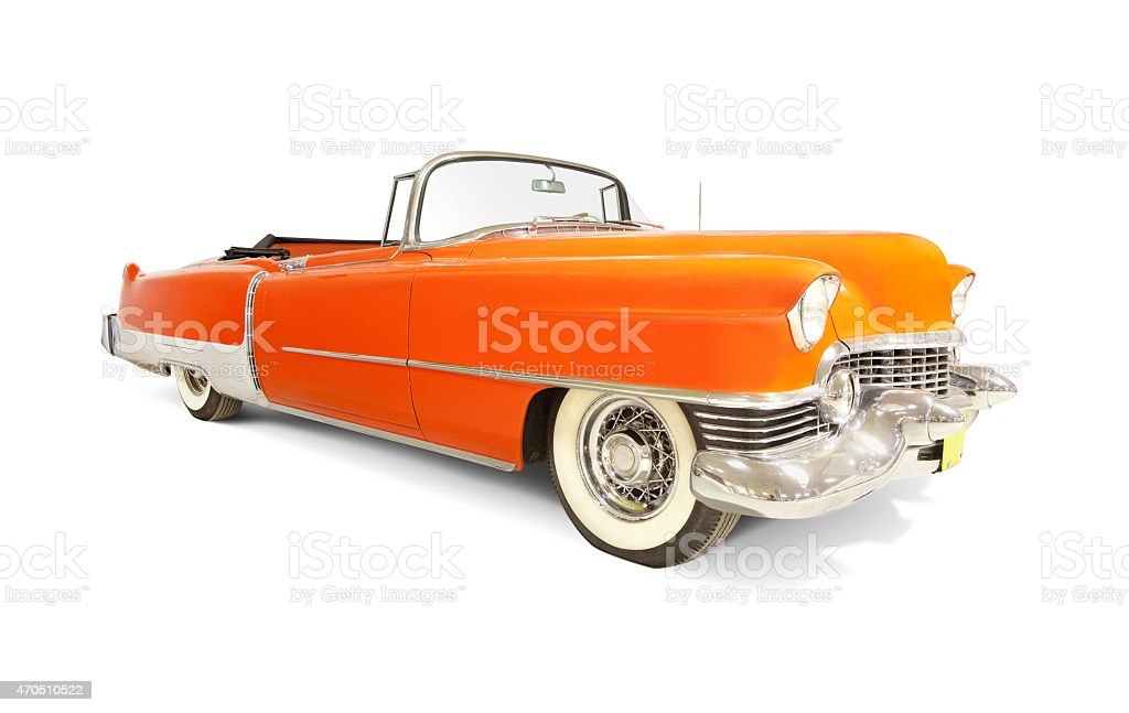 Cadillac Eldorado 1954 stock photo