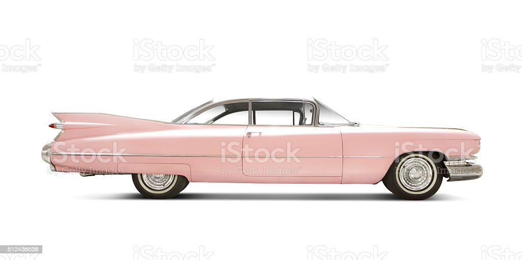 Cadillac Eldorado 1959. stock photo
