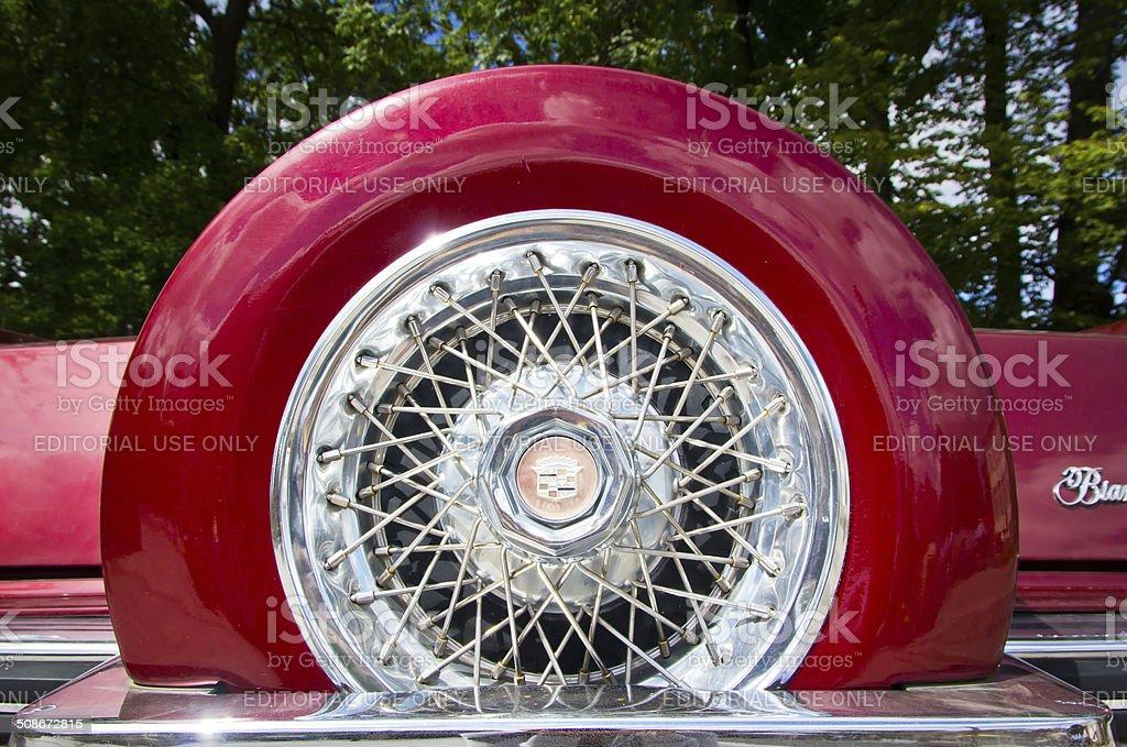 Cadillac Eldorado Biarritz royalty-free stock photo