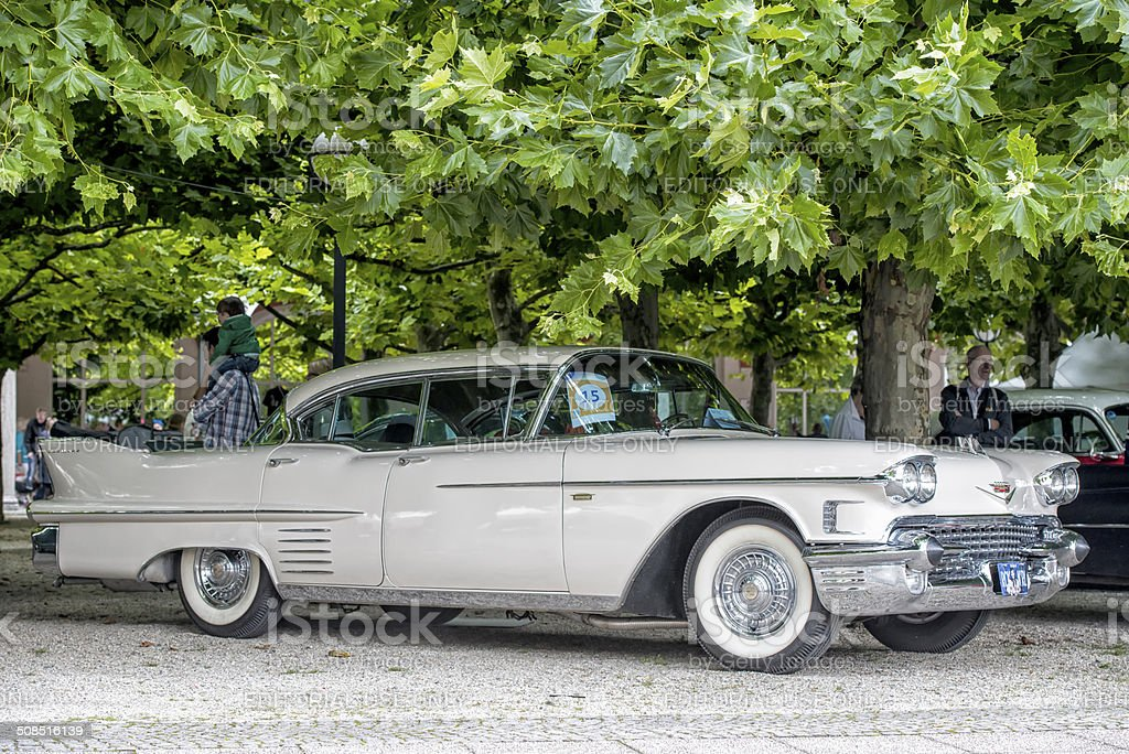 Cadillac Eldorado stock photo