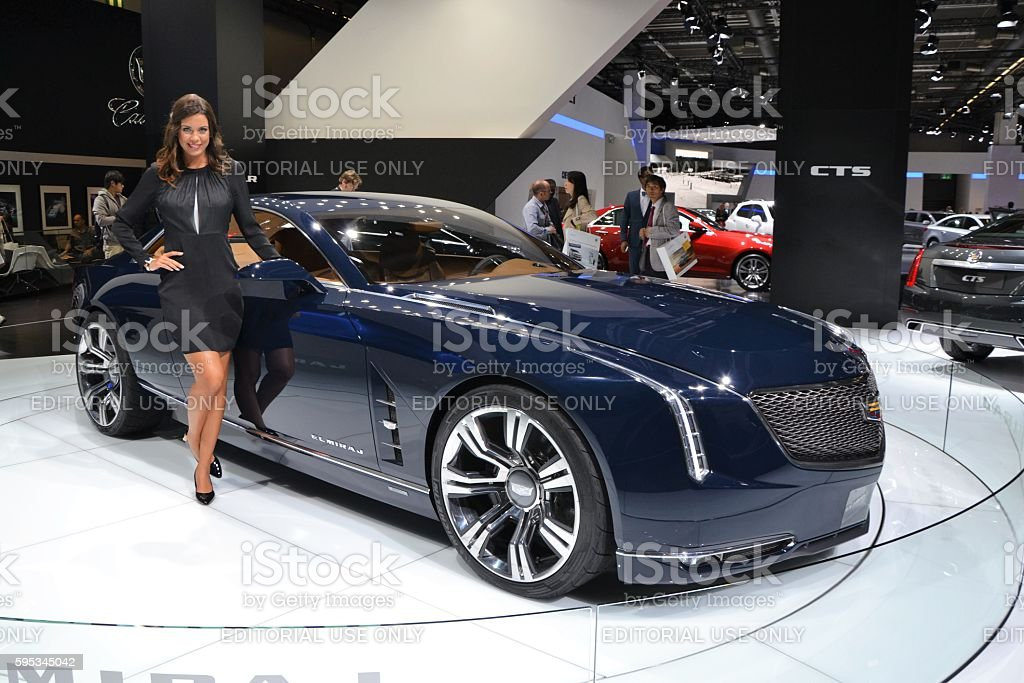 Cadillac Elmiraj - concept car stock photo