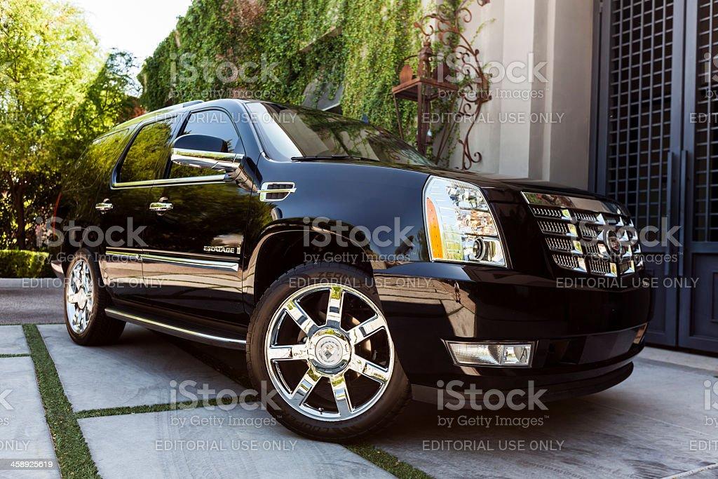 Cadillac Escalade 2007 stock photo