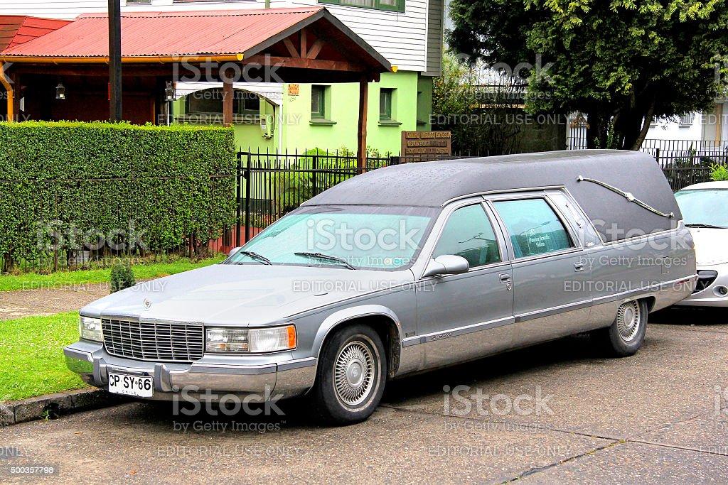 Cadillac Fleetwood stock photo