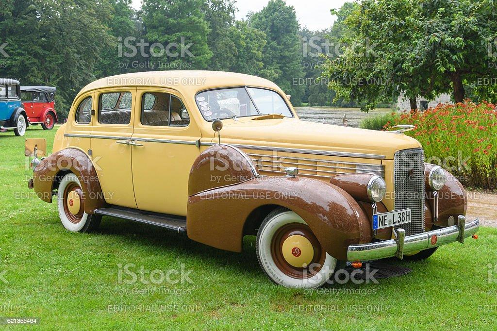 Cadillac Lasalle Sedan Classic American Luxury Car Stock
