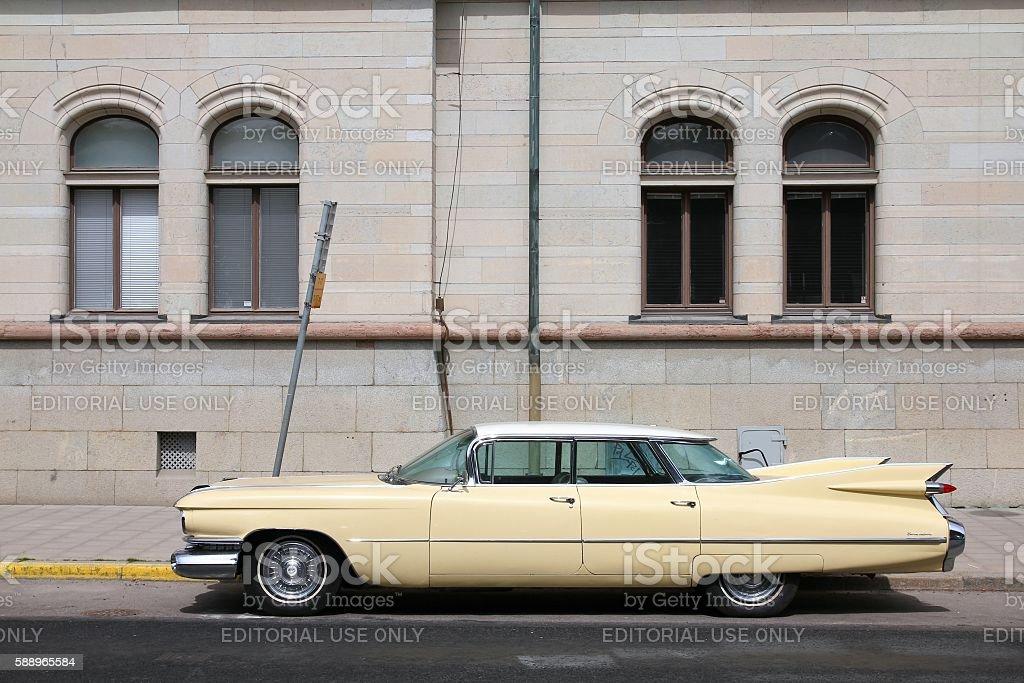 Cadillac stock photo