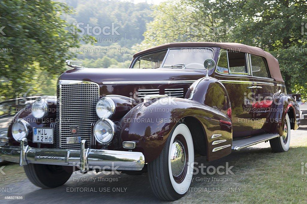 Cadillac Series 75 V-8 stock photo