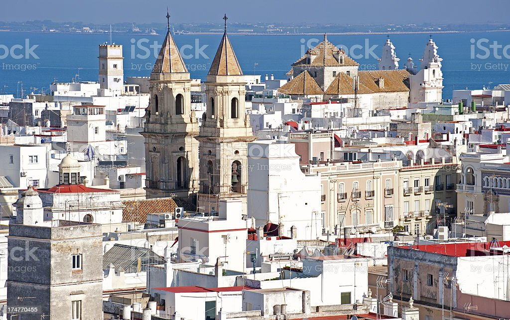 Cadiz stock photo