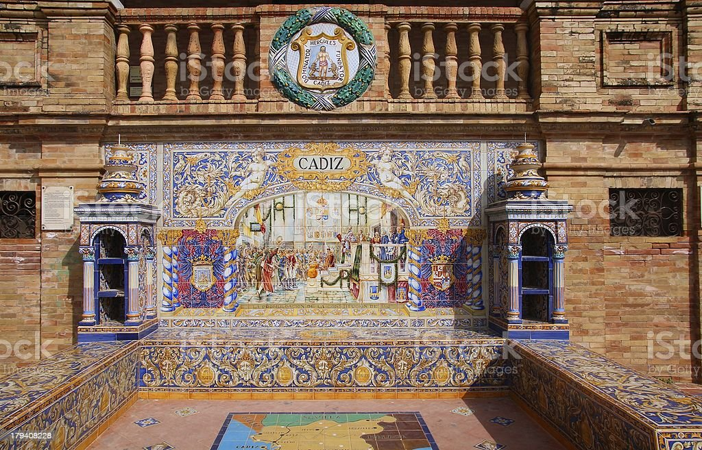 Cadiz royalty-free stock photo