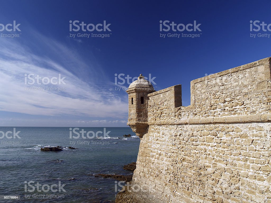 Cadiz royalty-free stock photo