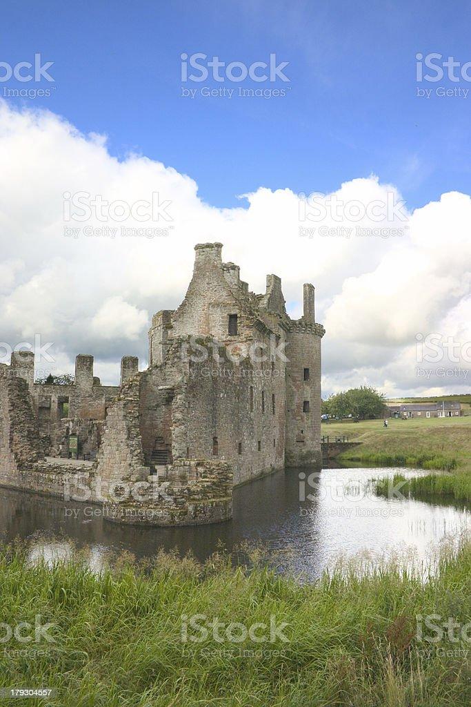 Château Caerlaverock 4 photo libre de droits