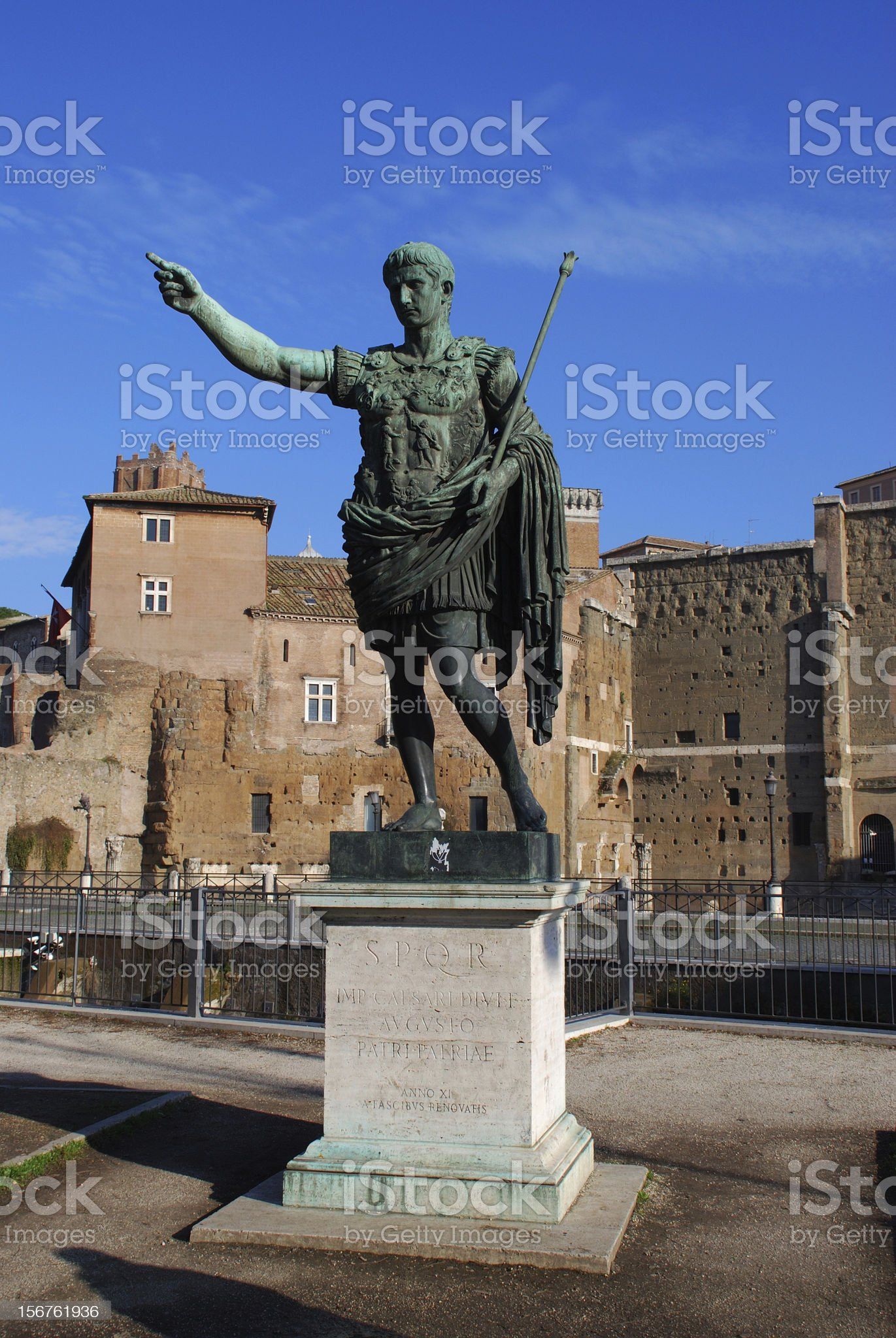 Caesar Augustus royalty-free stock photo