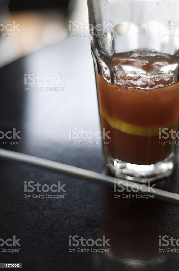 Caesar Drink stock photo