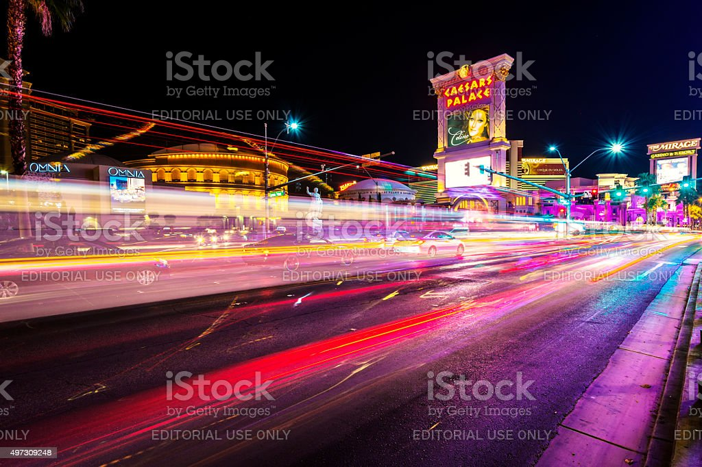 Caesar Palace Las Vegas stock photo