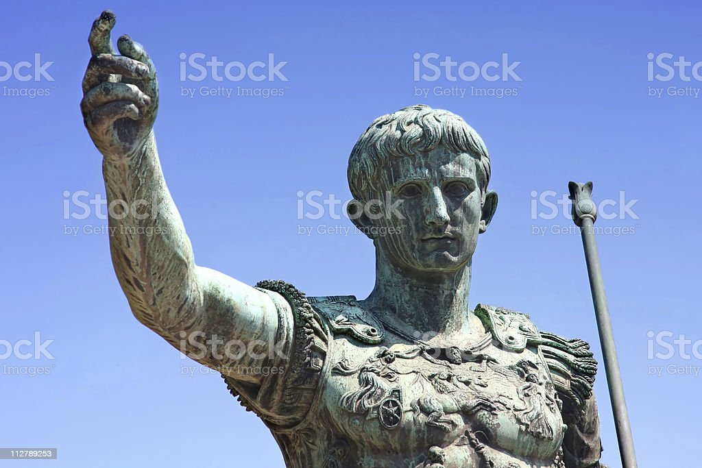 Caesar stock photo