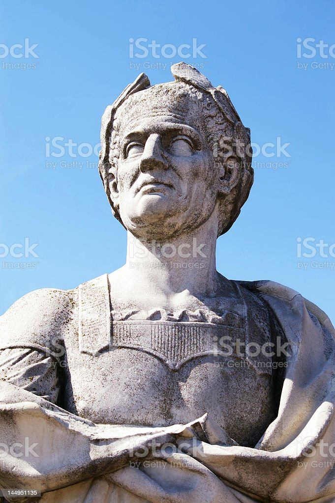 Caesar royalty-free stock photo