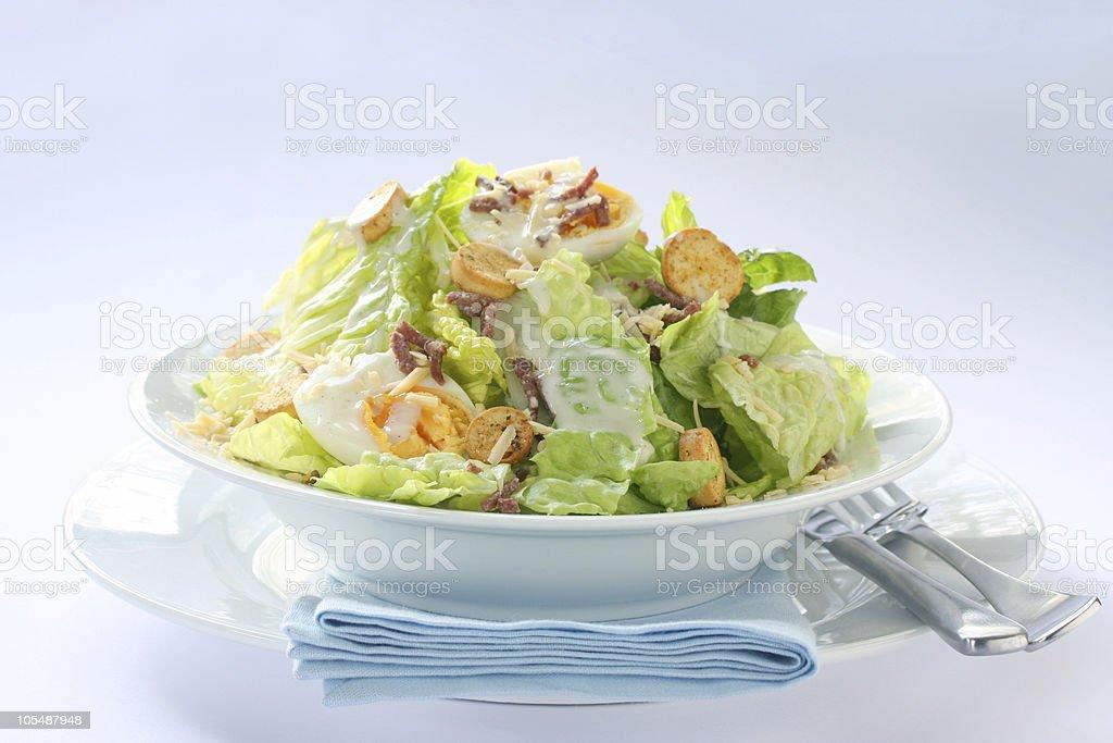 Caesar Salad royalty-free stock photo