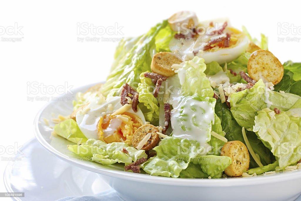 Caesar Salad stock photo