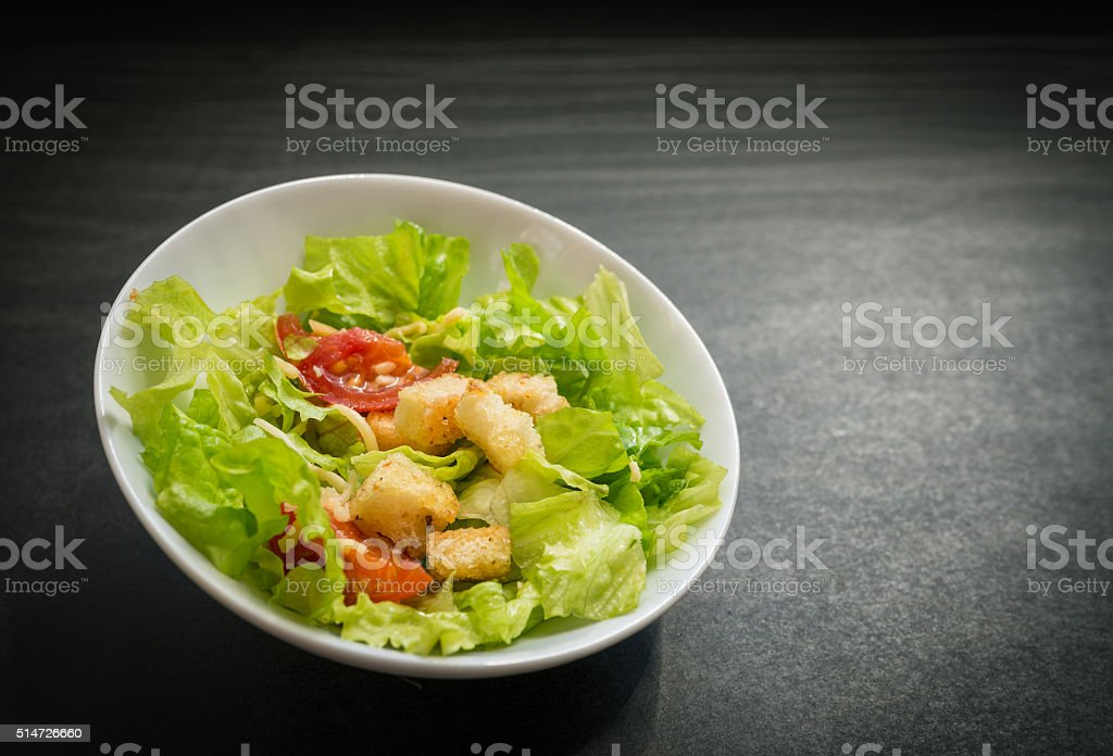 Caesar salad. stock photo
