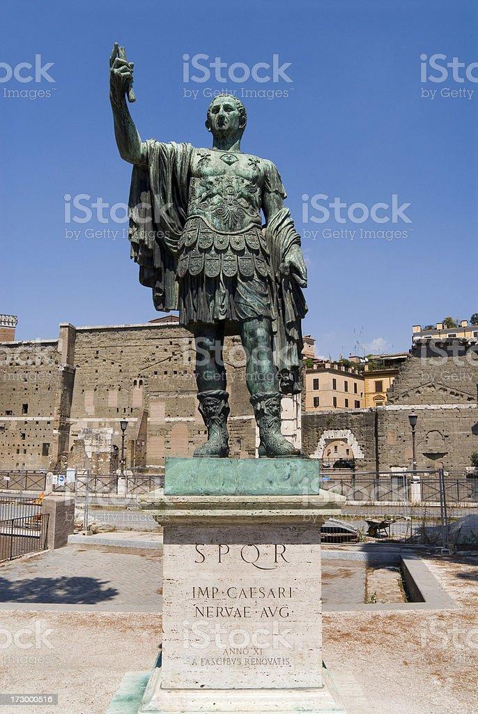 Caesar statue. royalty-free stock photo
