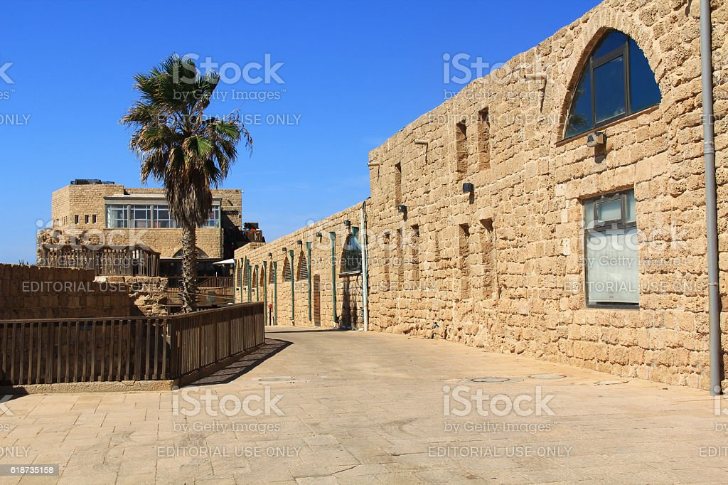 Caesarea Maritima National Park stock photo