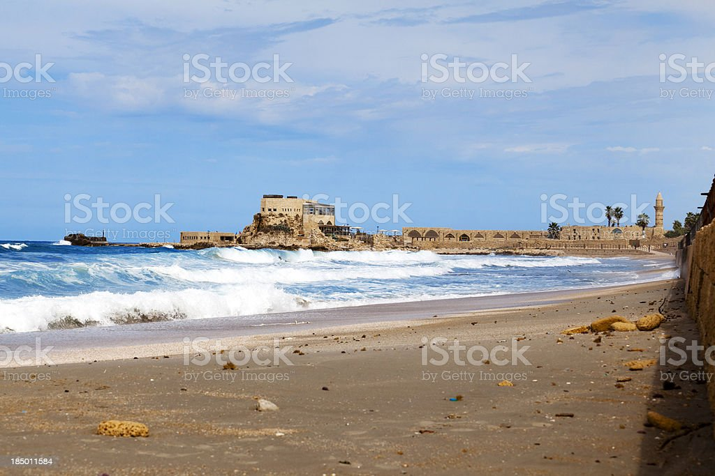 Caesarea royalty-free stock photo