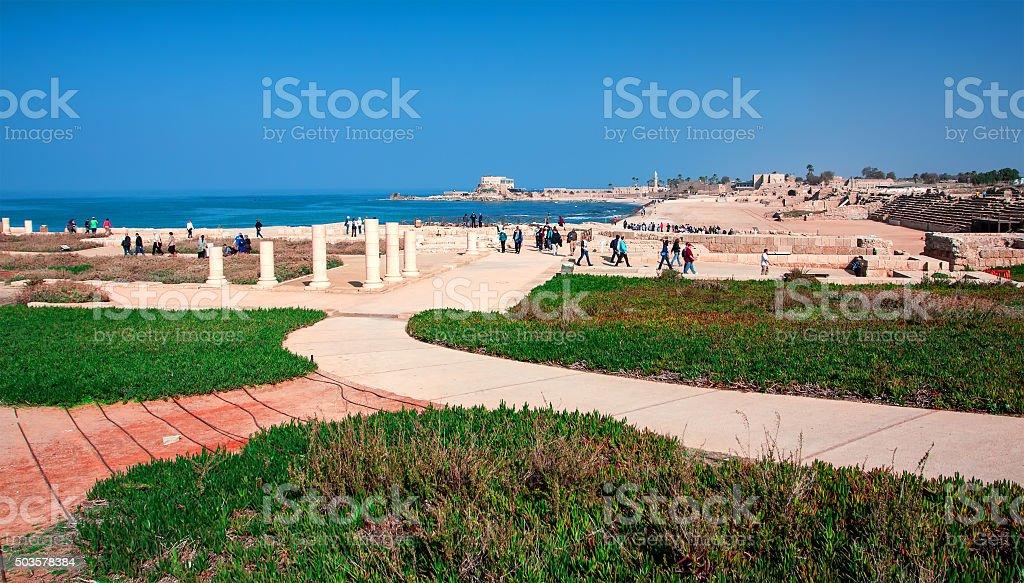 Caesarea stock photo