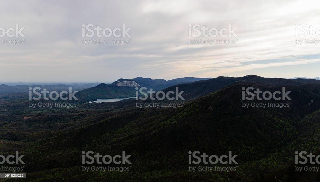 Caesars Head State Park, South Carolina stock photo