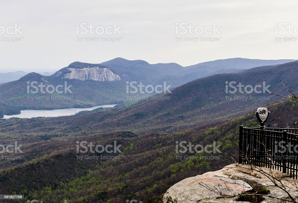 Caesars Head State Park, South Carolina stock photo