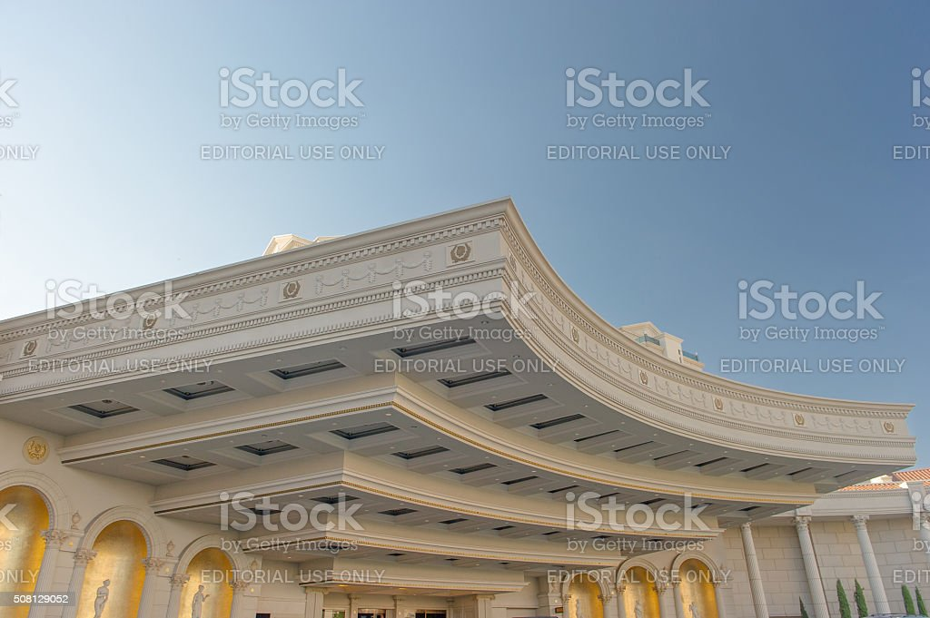 Caesars Palace Front Roof, Las Vegas stock photo