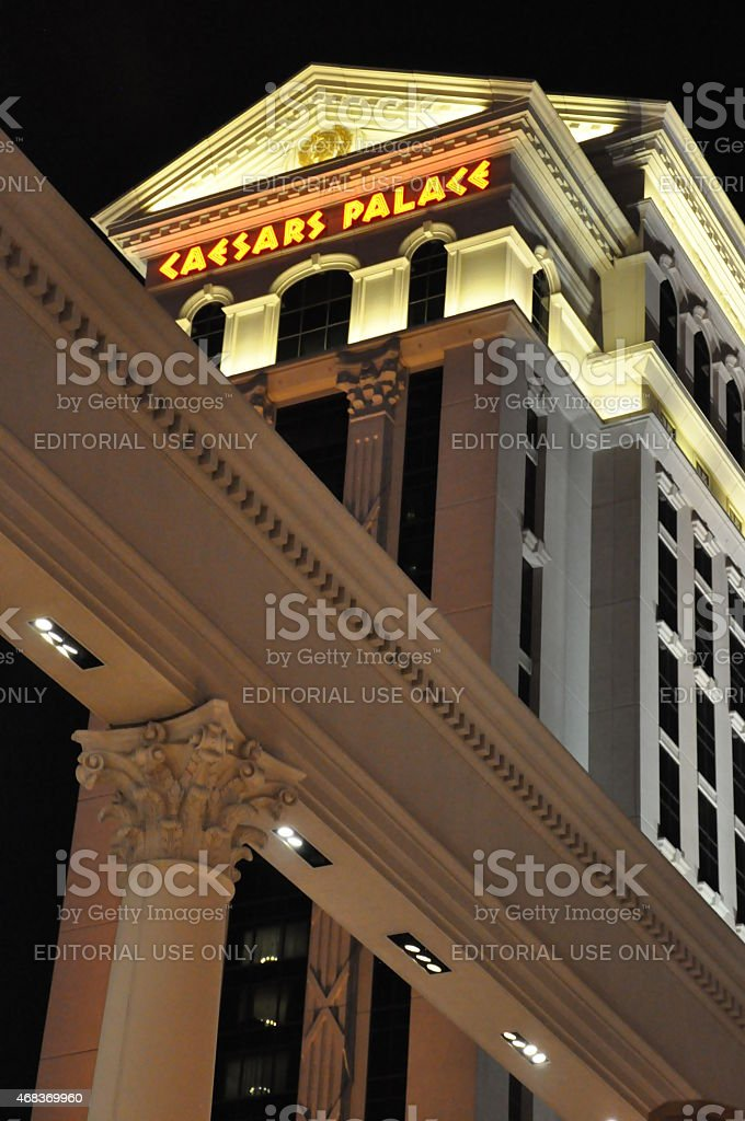 Caesars Palace hotel and casino in Las Vegas, Nevada stock photo