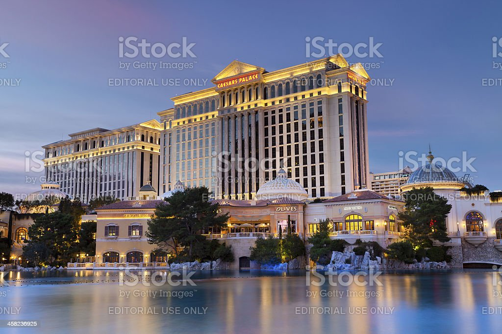Caesars Palace Hotel & Casino stock photo