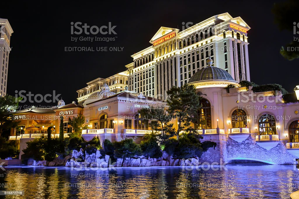 Caesars Palace in Las Vegas, Nevada stock photo