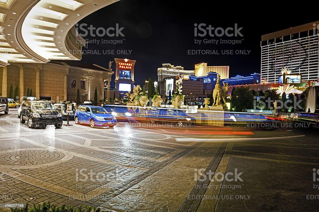 Caesars Palace in Las Vegas, Nevada, USA stock photo