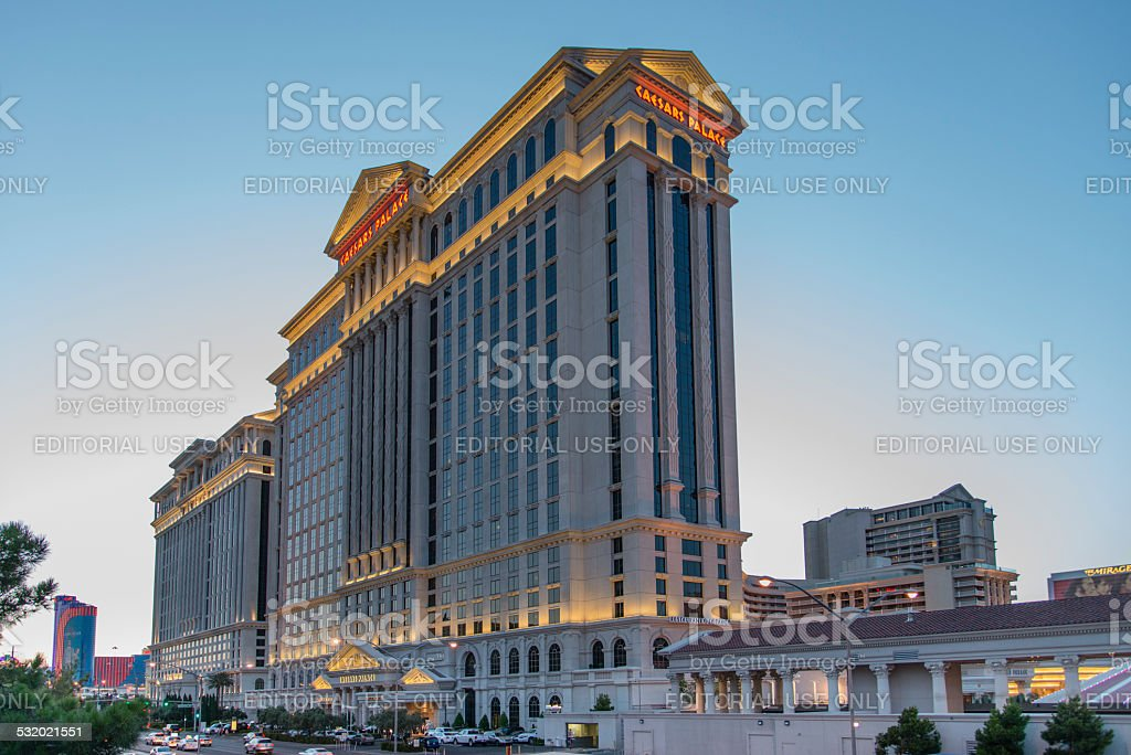 Caesars Palace Las Vegas stock photo