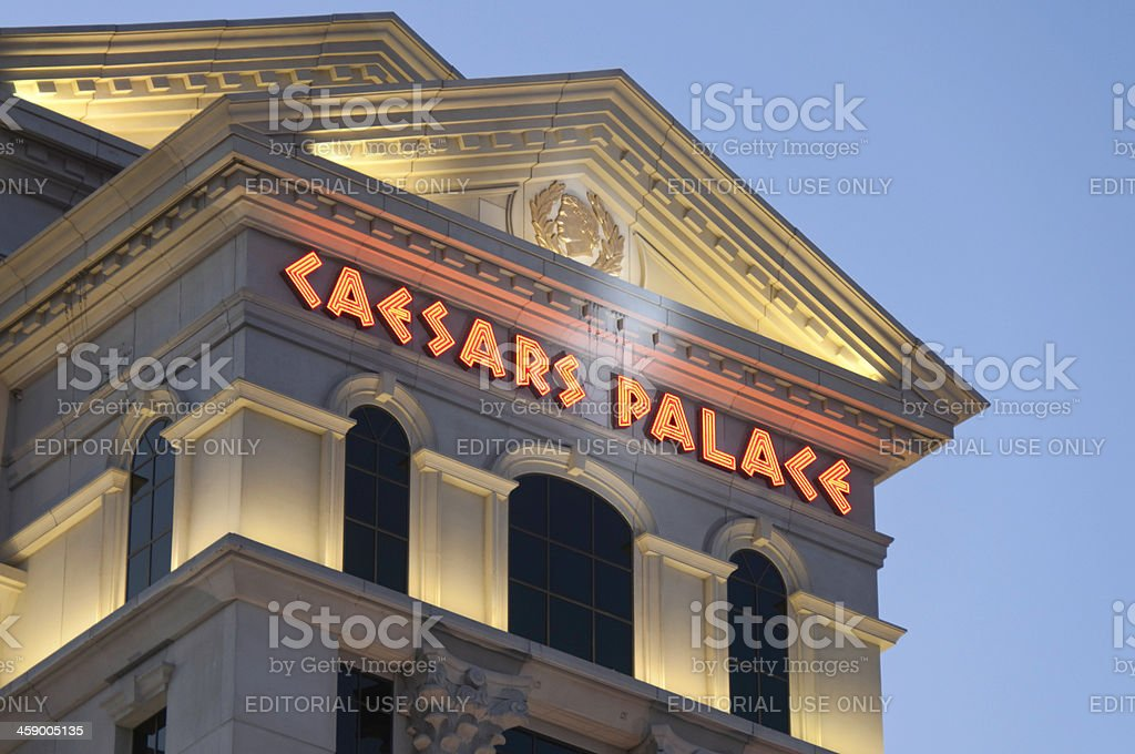 Caesars Palace stock photo