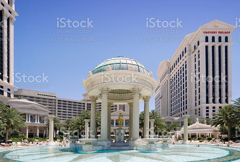 Caesars Palace Pool royalty-free stock photo