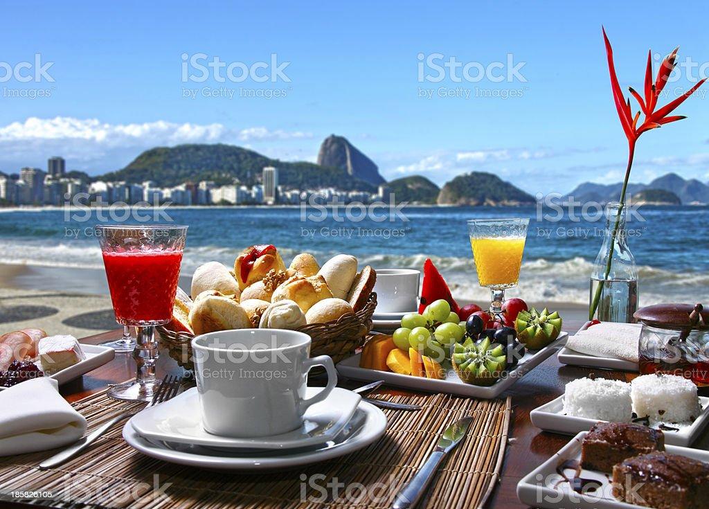 Café da manhã royalty-free stock photo