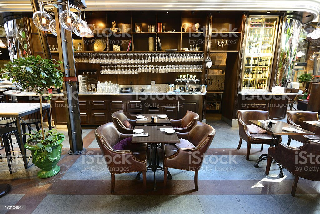 Café in office building royalty-free stock photo