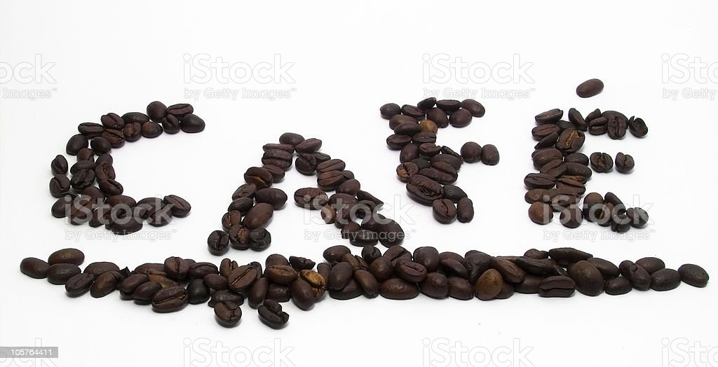 Caf? royalty-free stock photo