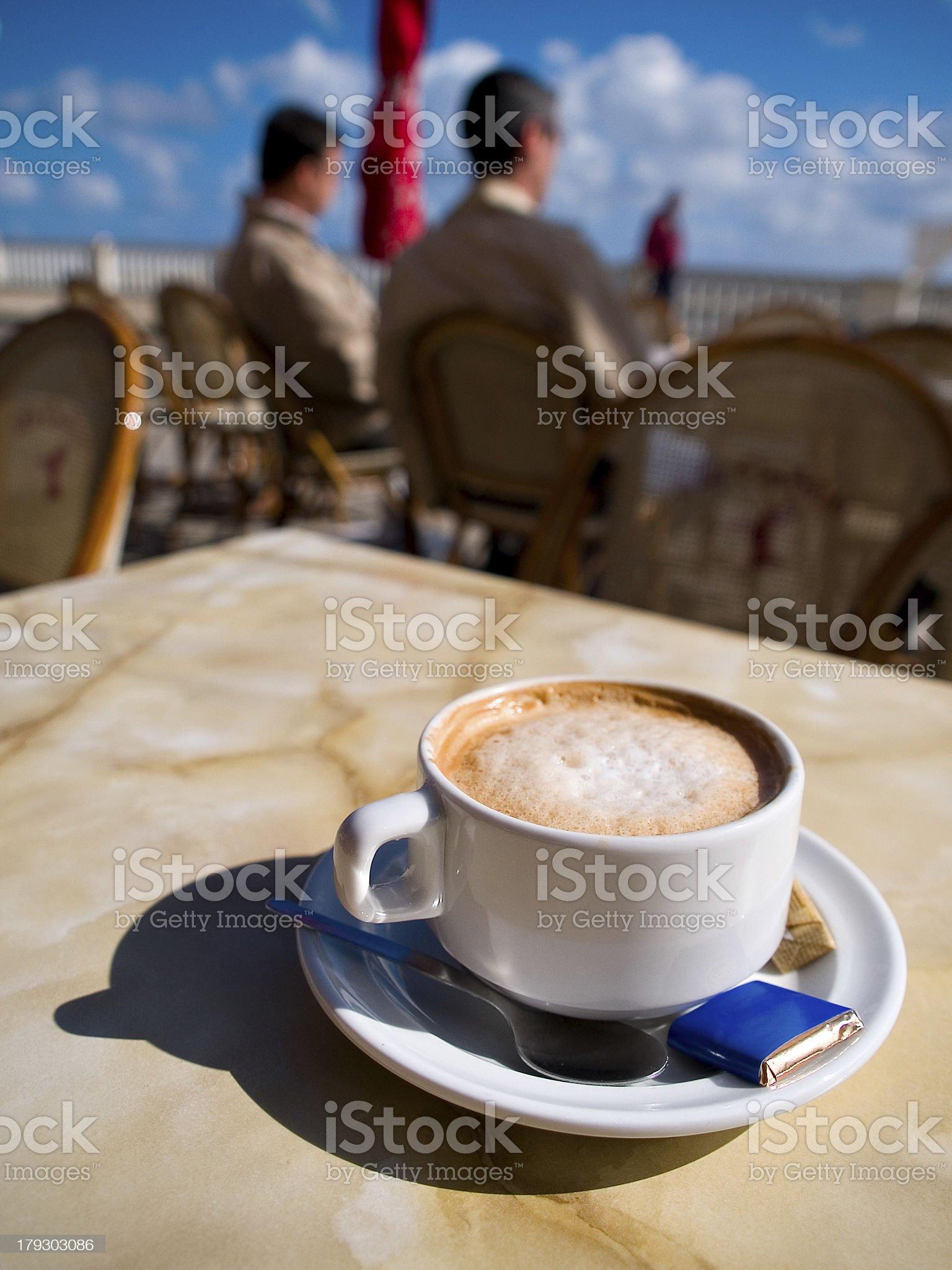 Café royalty-free stock photo