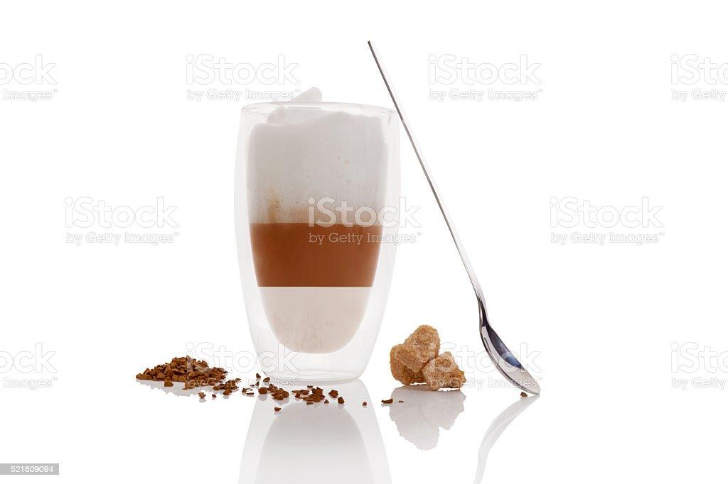 Cafe au lait. stock photo