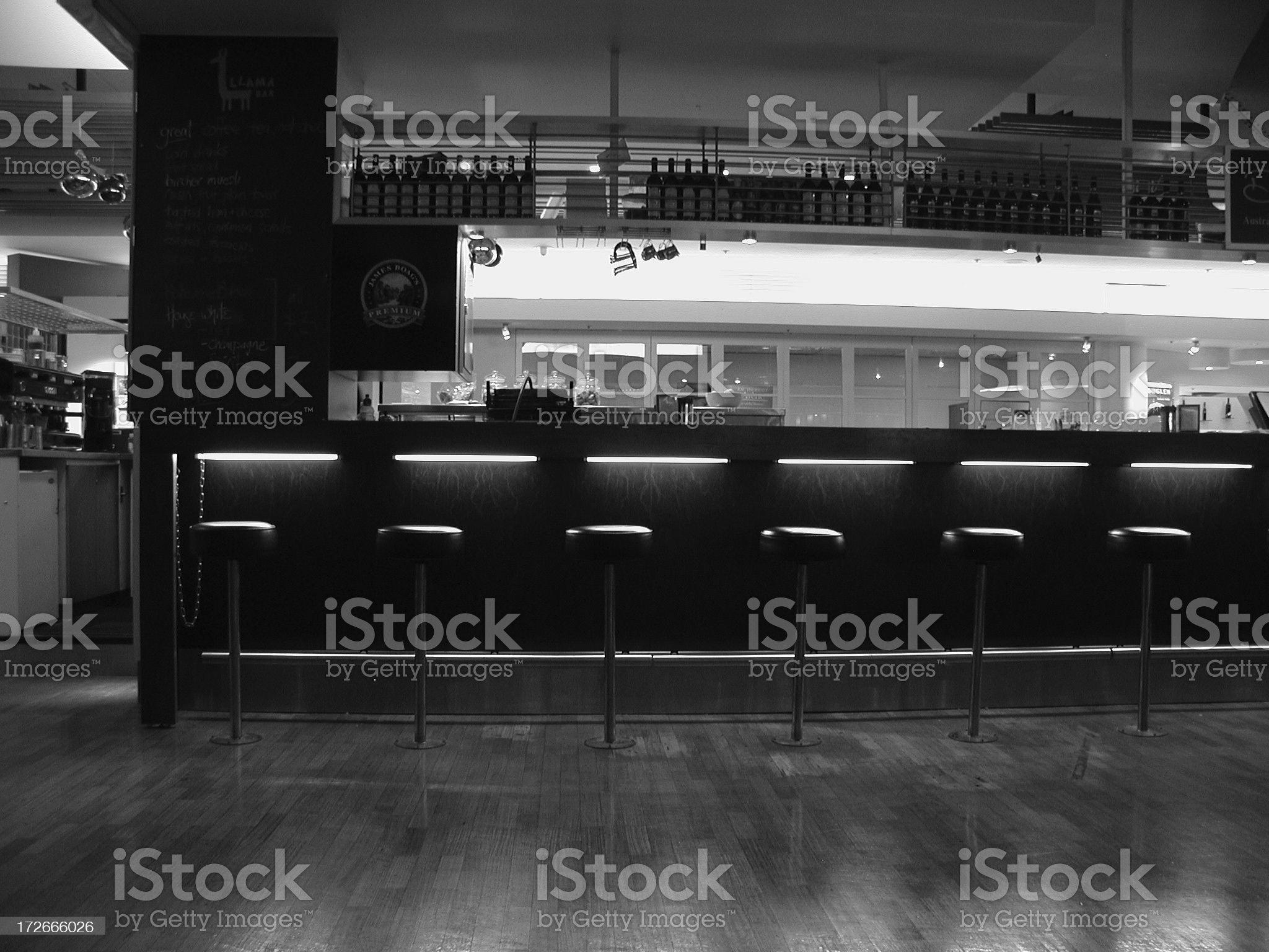 cafe bar royalty-free stock photo